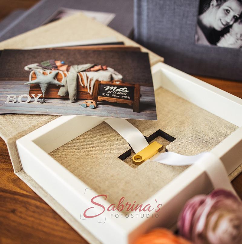 USB Übergabe - Sabrina's Fotostudio in Hamminkeln, zwischen Wesel und Bocholt am Niederrhein