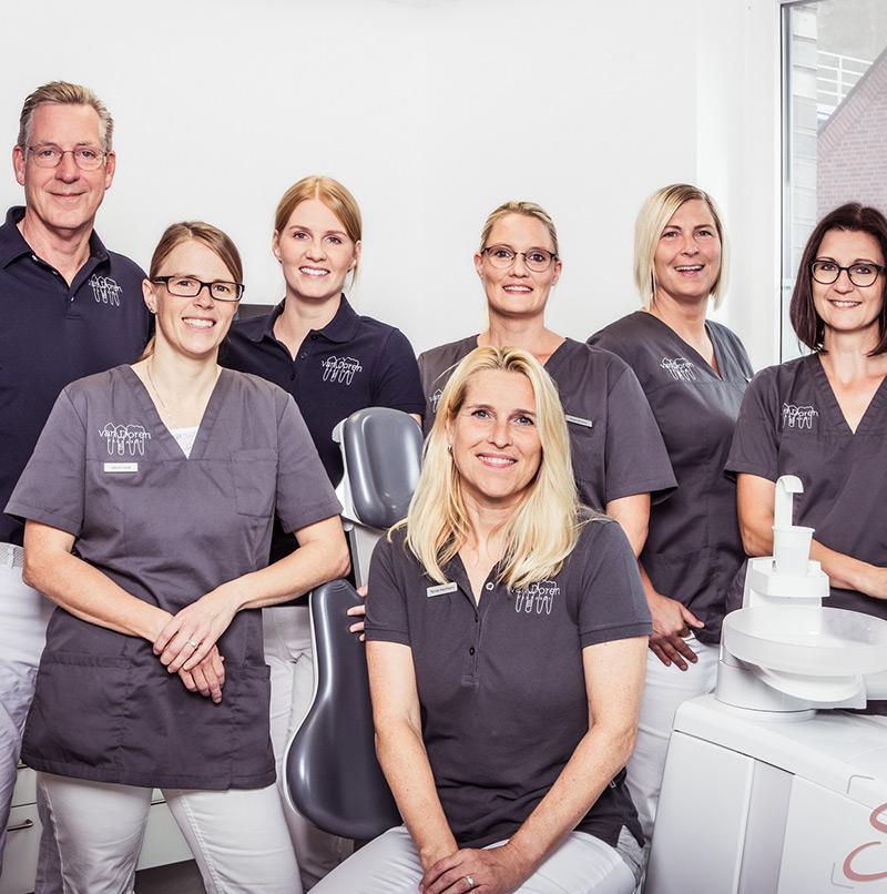 Zahnarzt Fotoshooting Teamfoto - Sabrina's Fotostudio in Hamminkeln, zwischen Wesel und Bocholt am Niederrhein