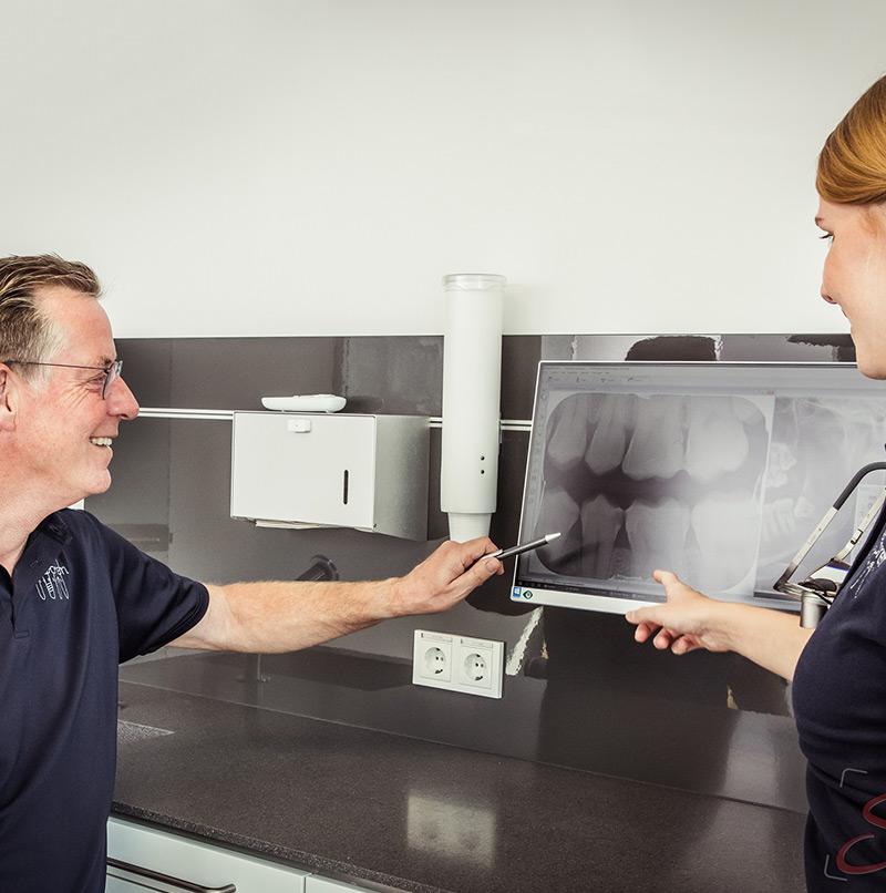 Zahnarzt Fotoshooting Behandlungszimmer Besprechung - Sabrina's Fotostudio in Hamminkeln, zwischen Wesel und Bocholt am Niederrhein