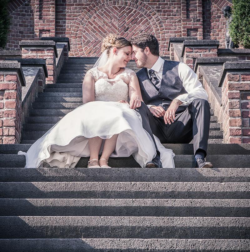 Brautpaar Fotoshooting - Sabrina's Fotostudio in Hamminkeln, zwischen Wesel und Bocholt am Niederrhein