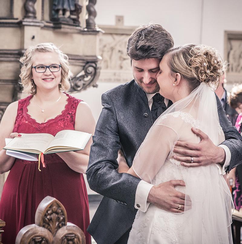 Brautpaar Fotoshooting Trauung - Sabrina's Fotostudio in Hamminkeln, zwischen Wesel und Bocholt am Niederrhein