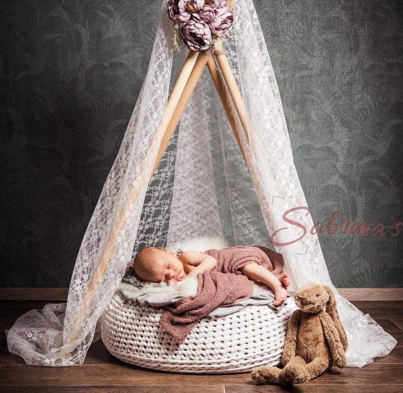 Baby Fotoshooting Tipi - Sabrina's Fotostudio in Hamminkeln, zwischen Wesel und Bocholt am Niederrhein